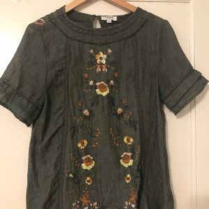 Umgee embroidered blouse